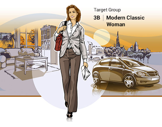 Target Group 3B | Modern Classic Woman